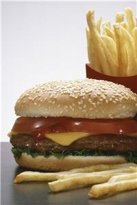 Fast food chains can improve cholesterol by offering medication
