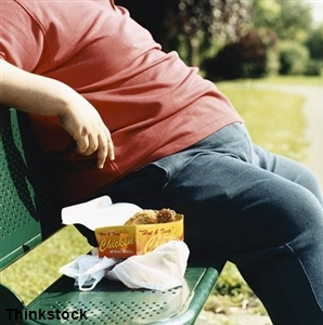 Large waistline increases risk of death from heart complications