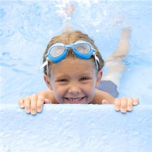 Swimming pools may increase the risk of developing asthma.