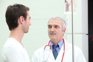 Blood test results should be considered alongside other factors when diagnosing prostate cancer