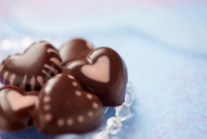 Chocolate has antioxidants that may improve cholesterol test scores