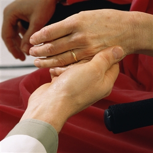 Getting a blood test in hospital may help patient get better care